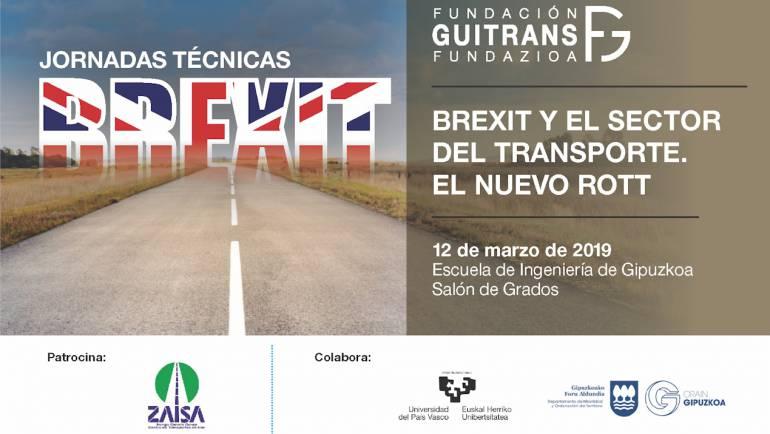 Jornada  técnica:  Brexit  y  el  sector  del  transporte.  El  nuevo  ROTT