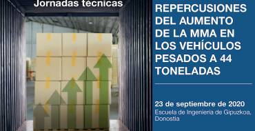 Jornada técnica: Repercusiones del aumento de la MMA en los vehículos pesados a 44 toneladas